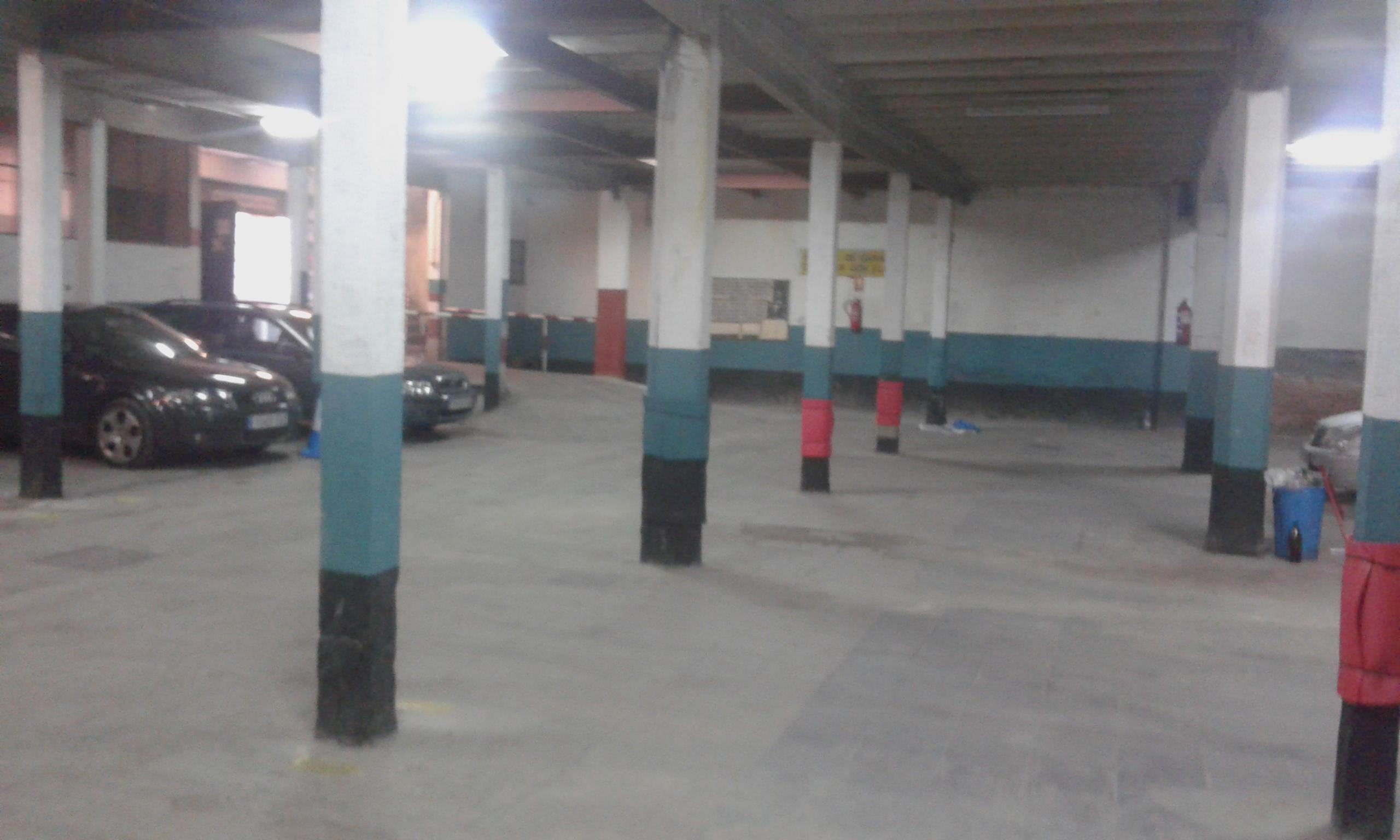 Parking recogida atocha